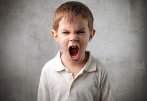 Angry Child - Misbehaviour